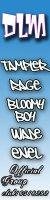 DLM - Союз начинающих рэп-исполнителей города Оренбурга.  Состав:Bloomy Boy,TAMPLER,Rage , WaDe , Enel.  В данной группе вы можете узнавать много нового о DLM.Вступайте и приглашайте...