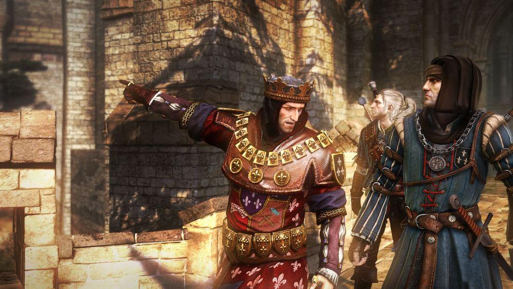 В Сети появились новые скриншоты The Witcher 2. Смотрим.
