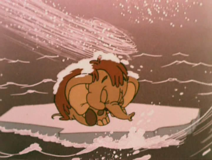 картинки мамонтенок на льдине